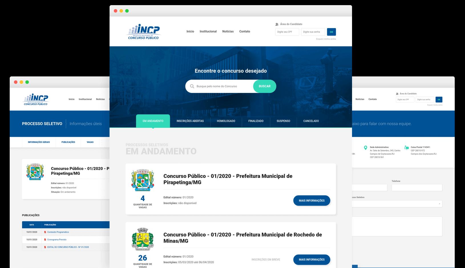 Instituto Nacional de Concurso Público